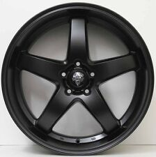 20inch GENUINE HRS R1 ALLOY WHEELS HOLDEN COMMODORE DEEP DISH HSV MATTE BLACK