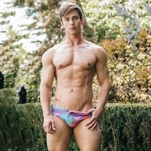"MENS Swimming Brief Swimwear Low Rise Polyester L 89-95cm 32-34"" 6cm Brand NEW"