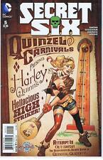 DC Secret Six #5 Harley Quinn Bombshell Variant Cover