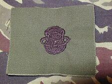 Special Forces BLACK Subdued Combat Diver Parachute cloth Badge obsolete scuba
