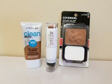 Lot of 3 ~ Covergirl Clean Matte BB Cream 560, Foundation 460 & Foundation stick
