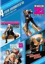 4 Film Favorites: Leslie Nielsen Naked Gun From The Files Of Police Squad, Nake