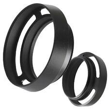 49mm Sonnenblende Metall lens hood für Kameras mit 49 mm Einschraubanschluss