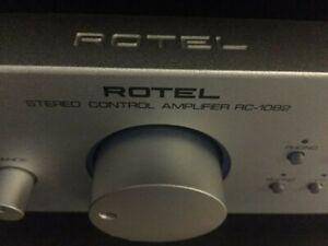 Rotel RC-1082 preamp, Silver