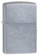 Zippo 207 Regular Street Chrome - Silver lighter - Petrol Windproof - Gift Box