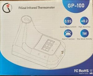 Figoal Infrared Thermometer GP-100 Wall Mount