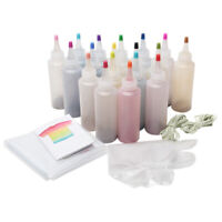 18pcs Tie Dye Kit Decor Graffiti Making Paints DIY Clothing Non Toxic Permanent