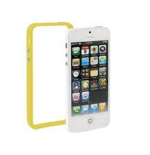 Bumber amarillo para Apple iPhone 5 amarillo case cover TPU protección marco Wow