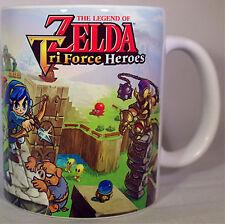 ZELDA TRI FORCE HEROES - Coffee MUG CUP - 3DS- Link