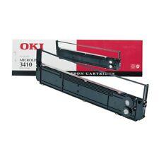 2 x OKI 09002308 schwarz Farbband