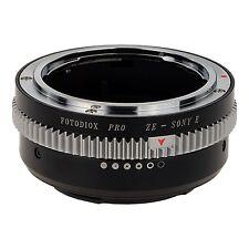 Fotodiox Pro Lens Mount Adapter - Mamiya 35mm (ZE) SLR Lens to Sony Alpha E-M...