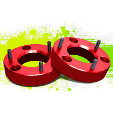 "PAIR 2""FRONT UP MOUNT LEVELING LIFT SPACERS KIT FOR 07-17 SILVERADO/SIERRA RED"