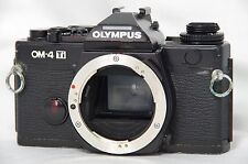 Olympus OM-4 Ti 35mm SLR Film Camera Black Body Only SN1207243 from Japan