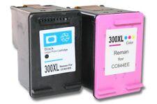 2St.   Drucker Patronen für HP 300 XL Deskjet D2600 D2663 black + colour