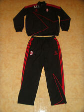 AC Milan Soccer Tracksuit Italy Football Presentation Suit Champions League XXXL