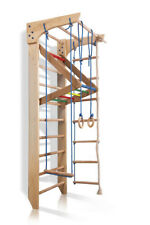 Swedish Ladder Wall Bars Children Home Gym Gymnastic Sport Complex. 220x80