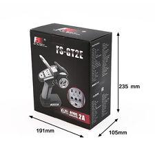 For Flysky FS-GT2E 3CH 2.4GHz LED Radio Control Transmitter Receiver for RC Car