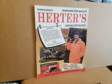 Outdoorsmen's Herter's Hunting Specialists Catalog Hunting Decoys Accessories