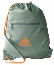 adidas Performance Damen Fitness Freizeit Beutel TRAINING GYM BAG grün orange