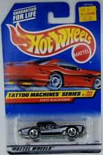 1997 Hot Wheels Stutz Blackhawk Tattoo Retro Vintage Diecast Car Kids Toy 90s