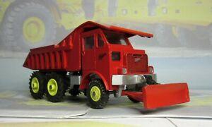 Code 3 Dinky 959 Foden Rear Dump Truck in red
