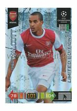 Panini Adrenalyn XL Ligue des Champions 10/11 - Theo Walcott-Limited Edition