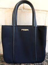 Nine West Clutch Purse Handbag Snap Closure Black