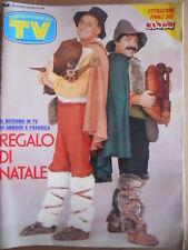 TV Sorrisi e Canzoni n°50 1988 Renzo Arbore Nino Frassica Avanti Tutta  [D44]