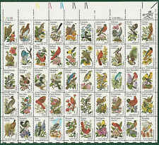 #2002  STATE BIRDS and FLOWERS Sheet Of 50 20c   MNH USA State Birds  & Flowers