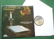 O Praise Ye the Lord Worcester Cathedral Choir & Festival Choral Society LP
