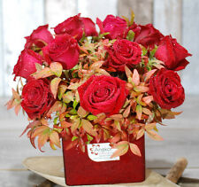 Fresh Flowers Delivery Sydney - Beautiful 12 Premium Red Roses  - Valentines Day
