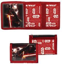 Kinder Portmonee Geldbörse Geldbeutel Disney Star Wars rot