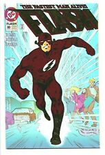 The Flash  #80 DC Comics 1993 F+ Foil cover does not scan well