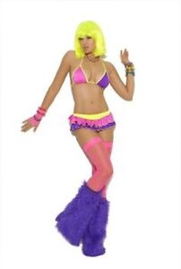 Neon Nites Rave Clubwear Outfit