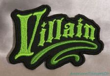 Embroidered Evil Lime Green Fairytale Villain Wicked Fantasy Patch Iron On Sew