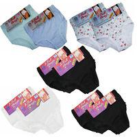 3,6 Ladies Full Mama 100% Cotton Briefs Knickers Underwear All Sizes WMS-XXXOS