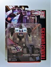 Transformers Power of The Primes Generations Deluxe Jazz Hasbro E1125 NISB