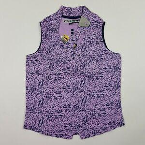 VTG Jamie Sadock Women's Size XS Golf Tennis Shirt Top Blouse Activewear NWT NEW