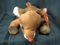 Rudolph the Red Nosed Reindeer Plush Stuffed Animal 50 Years Anniversary NWT