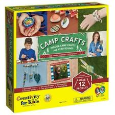Creativity for Kids 616000 Camp Crafts - 12 Classic Arts and Craft Projects