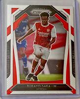 Bukayo Saka 2020-21 Panini Prizm EPL Premier League Rookie #40 Arsenal RC