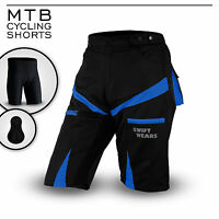 MTB Cycling Short Off Road Bicycle With CoolMax Padded Liner Short Swift Wears