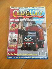 OLD GLORY MAG #138  VINTAGE TRACTORS MURDOCH FLYER EXETER TRAM DOCKYARD CRANES
