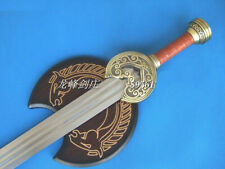 S4702 KING THEODEN ROHAN LORD OF THE RINGS HERUGRIM SWORD W/ CRESCENT PLATE 38""