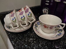 ADAMS OLD COLONIAL CUPS AND SAUCERS X 4