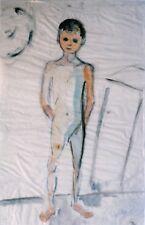 "GABRIELE SCHWEITZER-DAUBE GERMAN WC ""YOUNG BOY STANDING"" 1922"