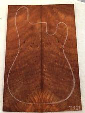 Redwood Lace Burl Bookmatch Set - Luthier Tone Wood .34 x 15 x 22.5 - 71427