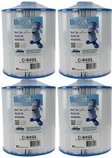 4) Unicel C-8450 Spa Replacement Cartridge Filters 50 Sq Ft Coleman/Maax PCS50N
