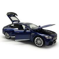 1:32 AMG GT63 S V8 Die Cast Modellauto Spielzeug Model Sammlung Ton & Licht Blau