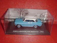 SIMCA ARONDE P60 MONACO 1962 bleu 1/43 IXO